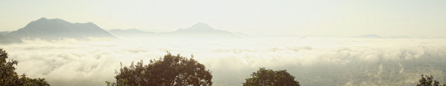 Clouds and mist at Phu Thok